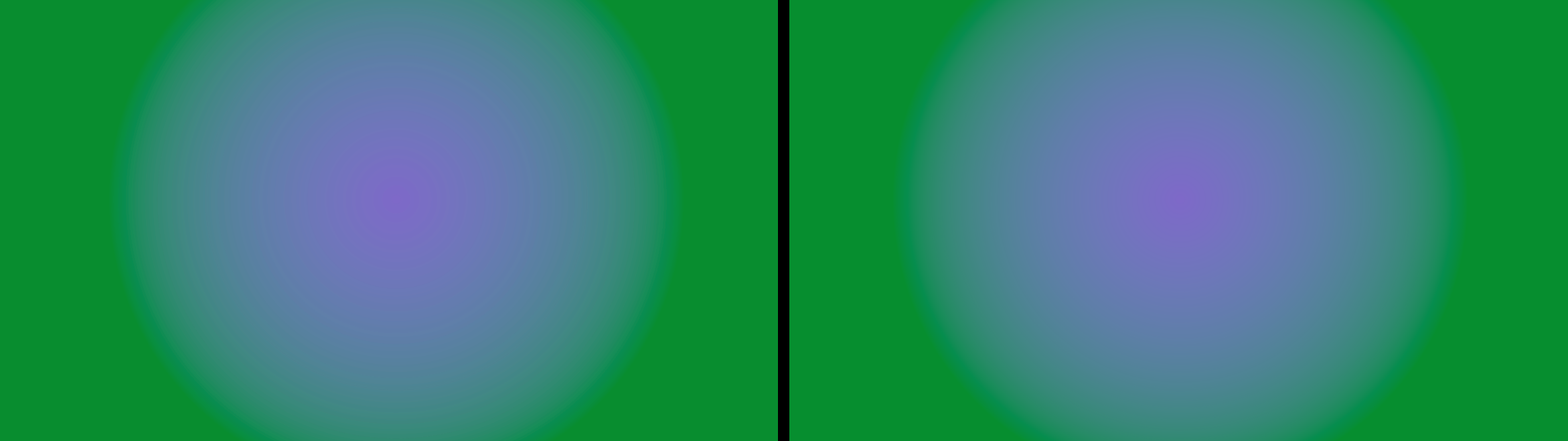 Deep color curves.